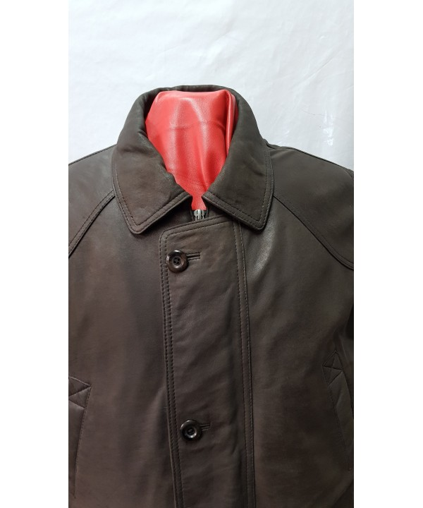Car Coat 1439 brown buff