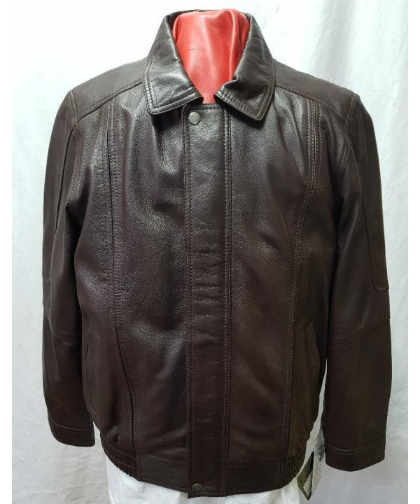 601 Men blooson wax brown