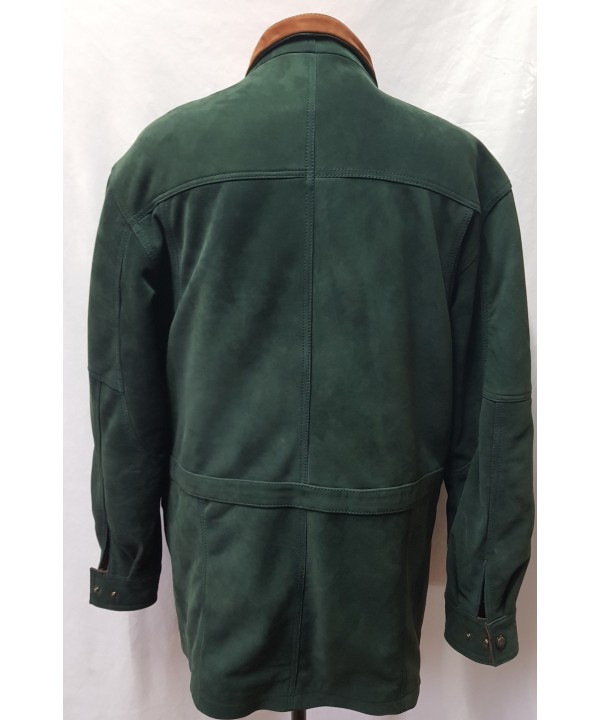 3/4 car coat  green newback G300