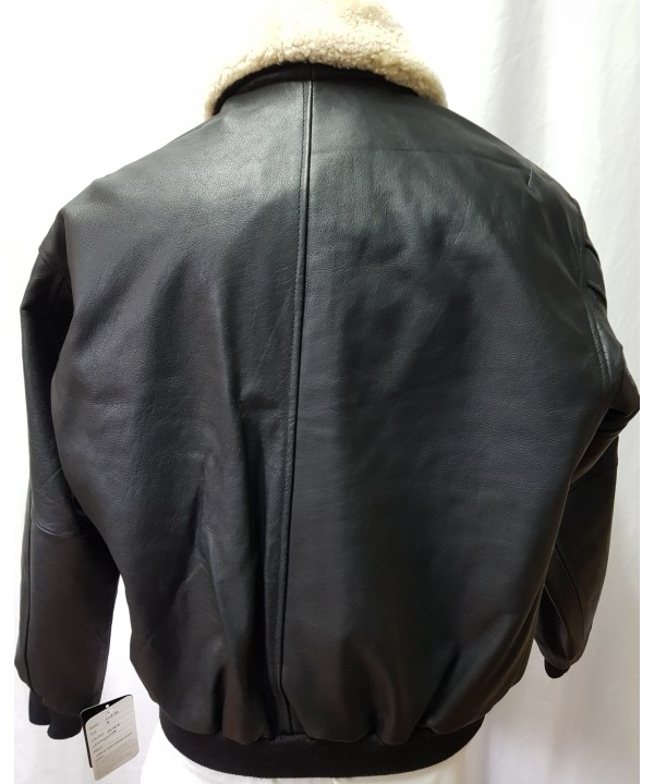 Aviator/ pilot style leather jacket