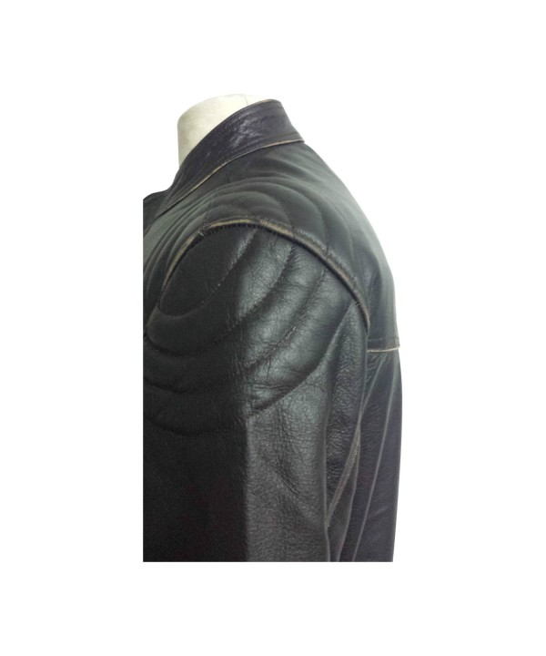 Biker Style Real Leather Jacket