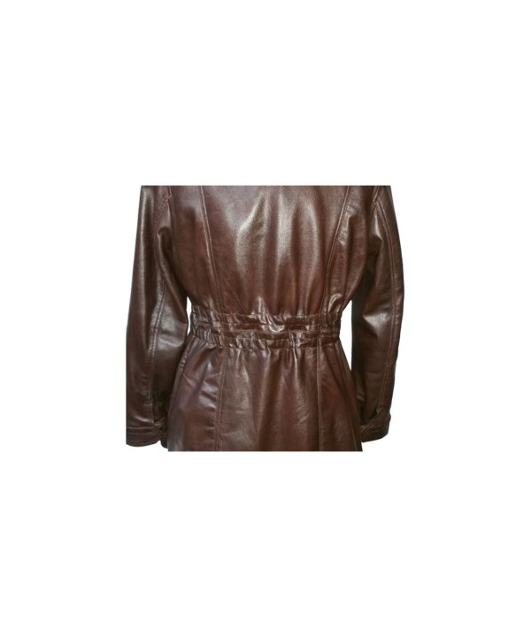Ladies 3/4 Soft Sheep Leather Coat